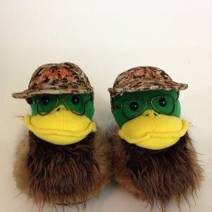 Duck Dynasty Men's Slippers One Sz Novelty